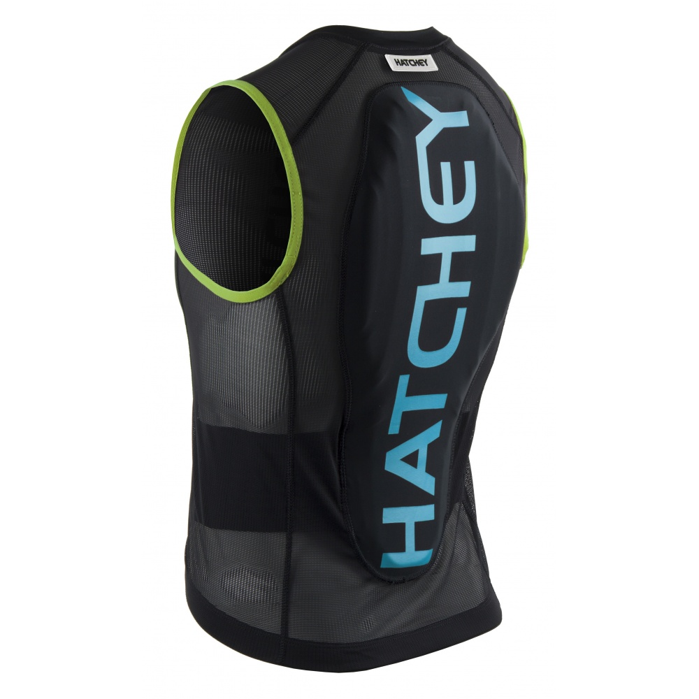 Hatchey Vest Air Fit Junior black/green/blue, XS